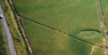 Marca oval: enormes propor��es comparada ao �nibus na estrada, � esquerda (Cortesia de Jo�o Oliveira) (Click para ampliar)
