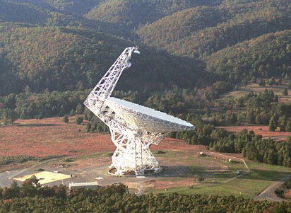 Radiotelesc�pio Robert C. Byrd Green Bank (Click para ampliar)