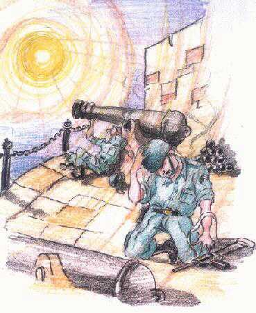 Sentinelas de Itaipu: um ataque ou um fen�meno natural?  (Click para ampliar)