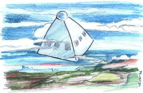 Representação artística do objeto observado por Westendorff (Por: Vart) (Click para ampliar)