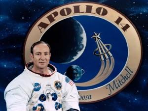 Edgar Mitchell em foto oficial da Missão Apollo (Foto: NASA)