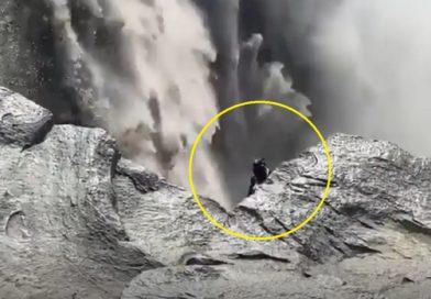 Criatura misteriosa filmada na Islândia: um elfo? Um alien?
