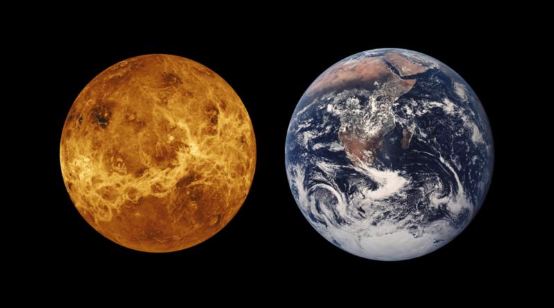 Breakthrough Iniciatives financiará pesquisadores para concluirem se fosfina nas nuvens de Vênus, ao lado da Terra, significa vida ou processo desconhecido