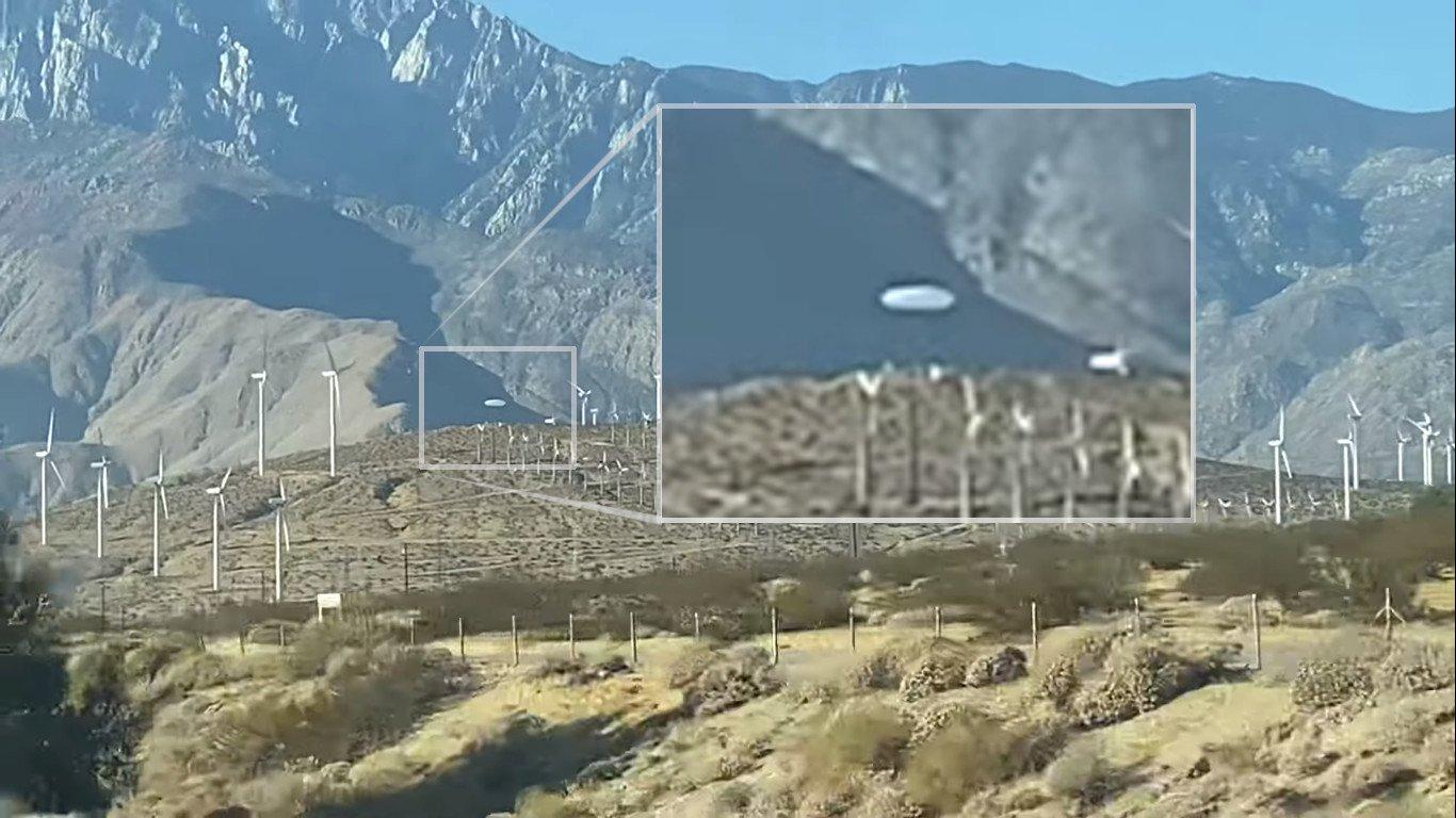 Seria mais um caso de UFO Tic-Tac o objeto filmado na Califórnia (EUA). Foto: reprodução/Youtube - iiiAnon Dimensional