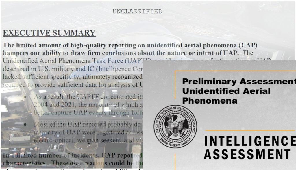 Relatório do Pentágono entregue ao Congresso confirma que EUA não faz ideia do que são os UFOs
